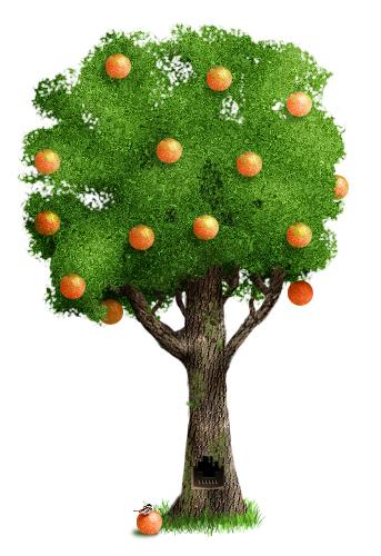 Как рисовать дерево в