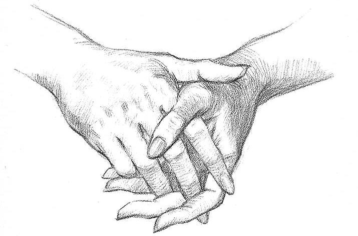 Руки кисти рук уроки рисования