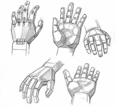 Рисунок своей кисти рук